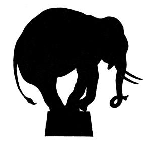 Vector-Circus-Elephant-Silhouette-GraphicsFairy1